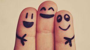 amigos dedos